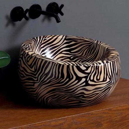 Chiuvete ceramice moderne de blat realizate în Italia de Elisa