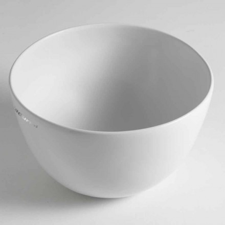 Lavoar din ceramică cu blat Domenico Realizat în Italia