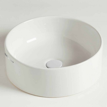Lavoar circular circular blat în ceramică Made in Italy - Rotolino