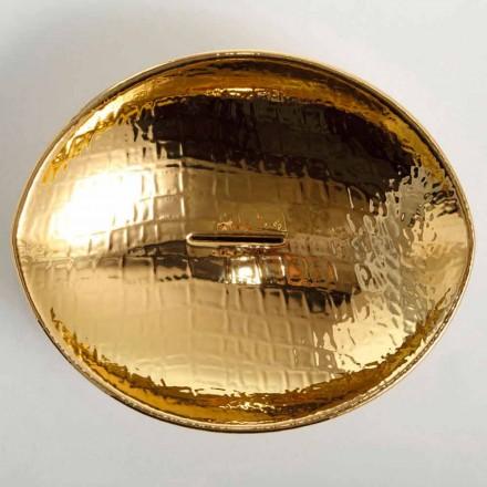 Blat de proiectare ceramică chiuvetă de aur făcute în Italia Animale