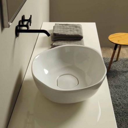 Proiectați chiuvetă de spălat ceramică din Italia Stem