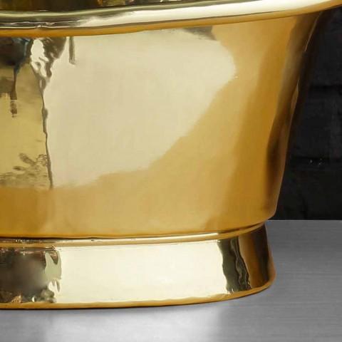 suport de proiectare Chiuvetă în întregime din alamă Calla