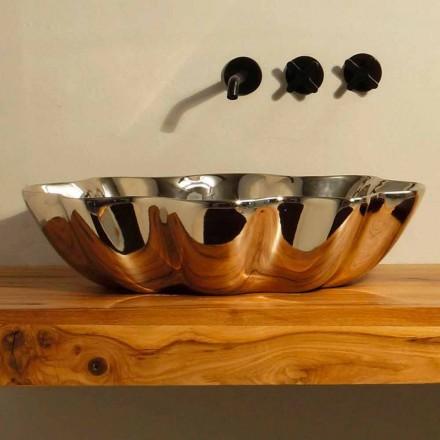Design modern, chiuveta ceramica din Italia Cubo