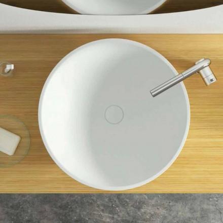 Design modern, chiuvetă de spălat circular din Italia, Donnas