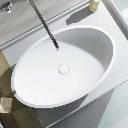 Design-ul blatului oval de blat design a produs 100% în Italia, Frascati