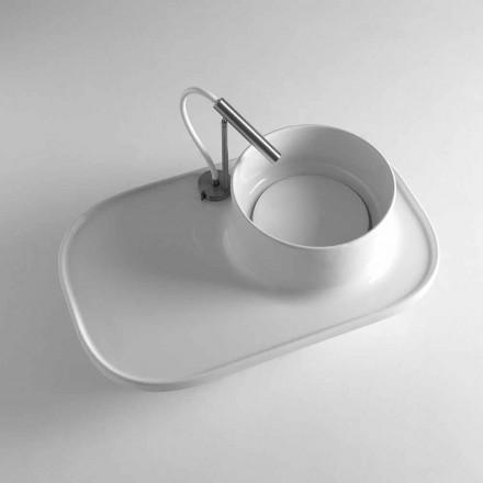 Chiuveta din ceramica Marta cu design modern