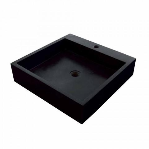 Chiuveta echerului în bazalt negru Ban