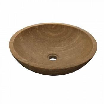 Lavoar rotund Suport de piatră naturală Kari