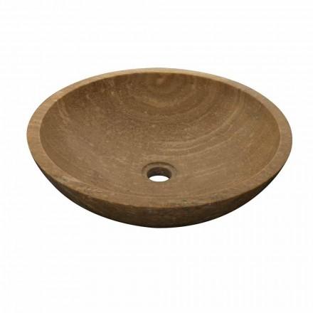 de la chiuvetă rotundă din piatră naturală Kari