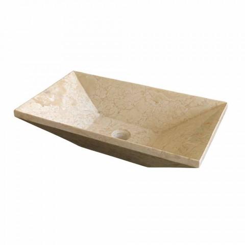 Chiuveta Sprijinirea Keystone Natural Stone Bej Wok