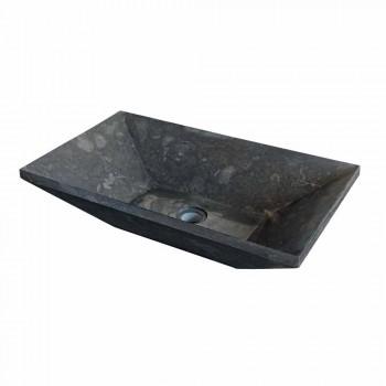 Chiuveta Sprijinirea Keystone Natural Stone Negru Wok