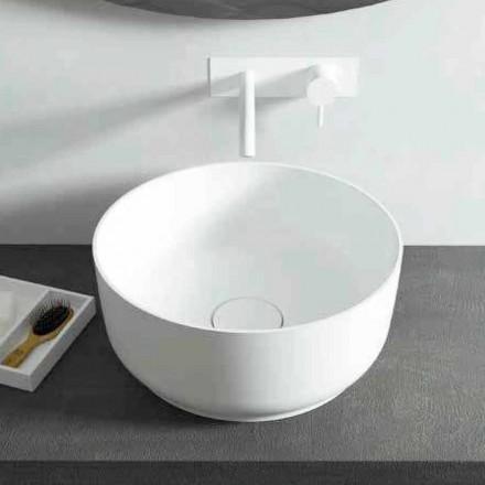 Design modern, cu lavoar rotund, fabricat în Italia Dalmine
