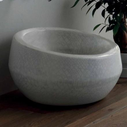 Blat de design din blat din ceramica python din Italia Elisa