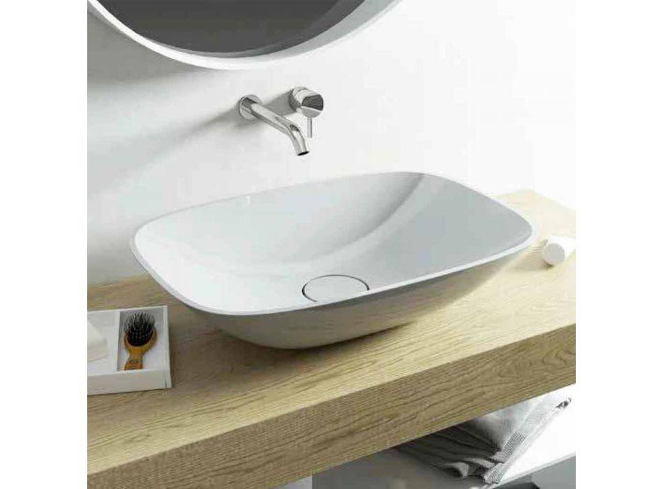 Cadă de baie lavoară modernă, fabricată în Italia Taormina Medium