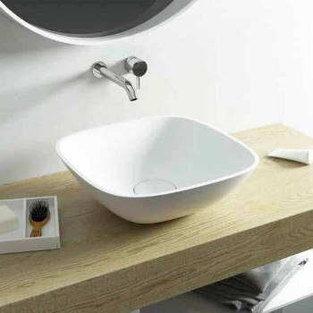 Spațiu de spălat în piscină în formă de piatră, fabricat în Italia, Taormina Mini