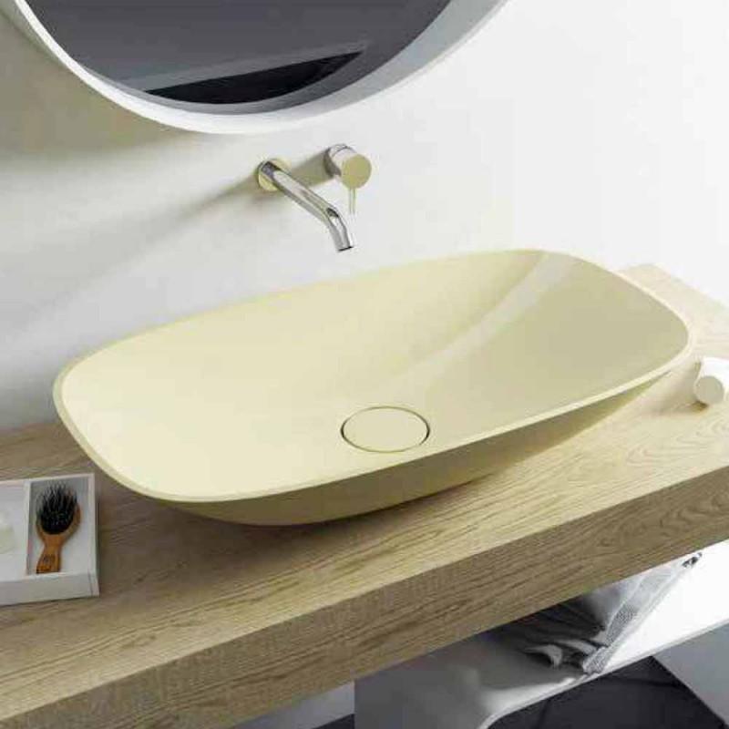 Design modern făcut din Italia, chiuvetă de baie independentă Taormina Big