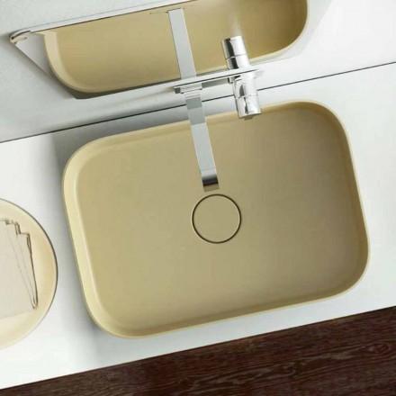 Designul modern de chiuvete colorat a făcut 100% în Italia, Formicola