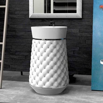 Design modern, chiuvetă, în suprafața solidă Elizabeth