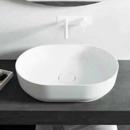 Proiectat chiuvetă de baie independentă, fabricată în Italia, Dalmine Medium