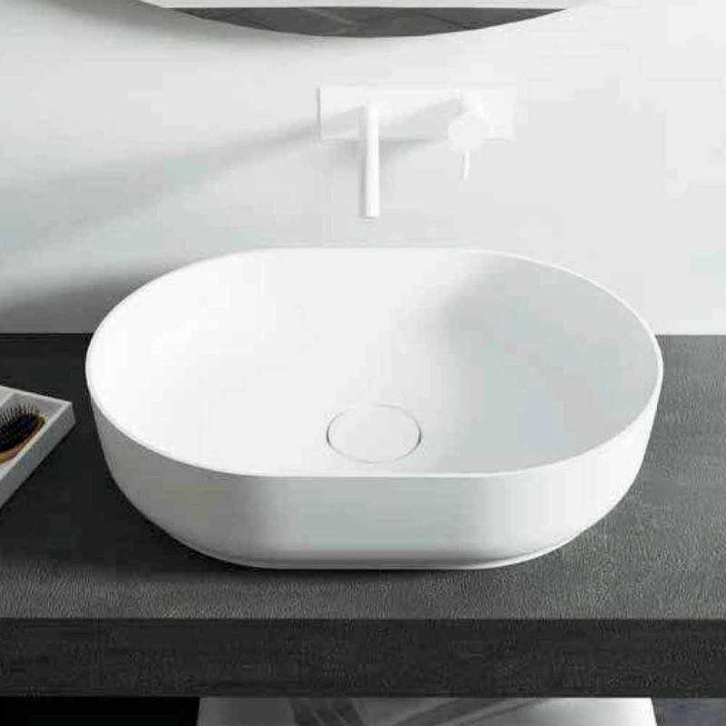 Proiectat în Italia, chiuveta pentru baie, fabricată în Italia Dalmine Medium