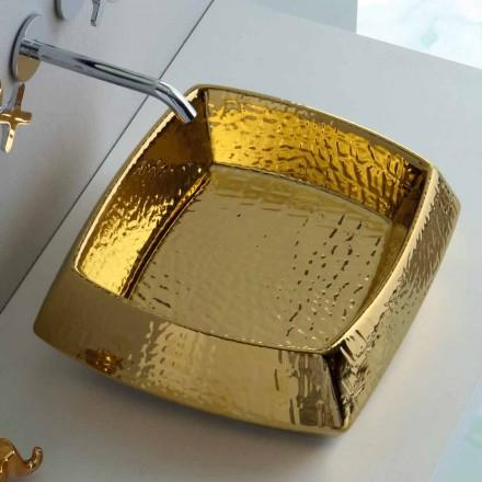 Blat de aur din ceramică modern produs în Italia Simon