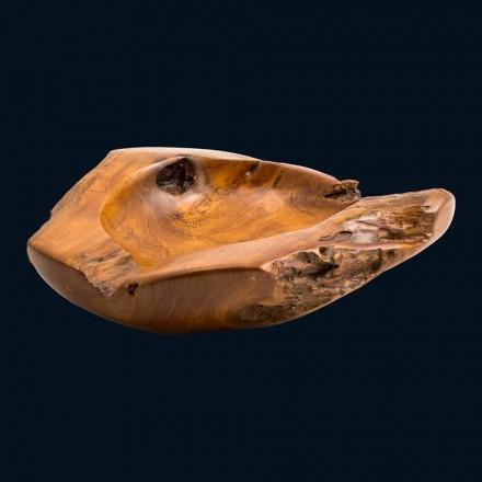 Chiuveta din lemn de tec blat lucrate manual Nemo