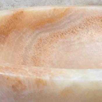 Ana design chiuveta din piatra naturala in design, manual
