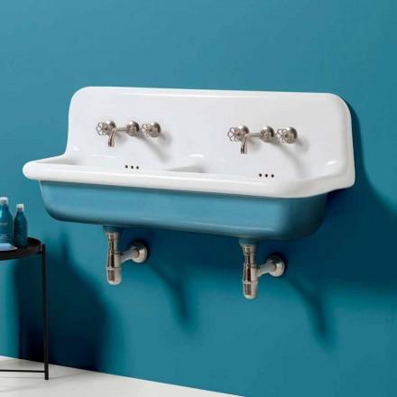 chiuveta rezervor modern perete dublu în design ceramic Jack