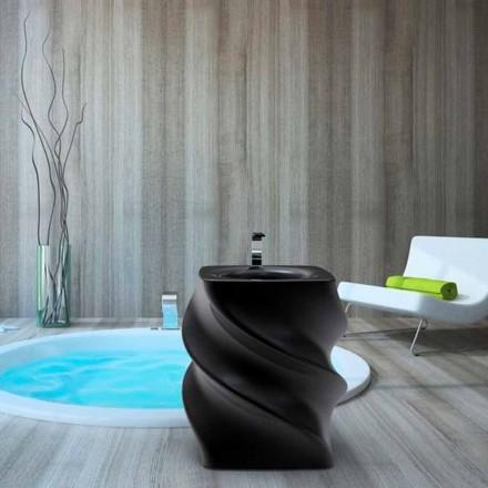 Design modern, chiuveta neagră, design independent, din Italia