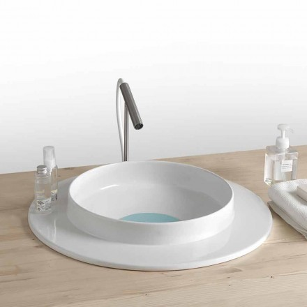 baie chiuveta rotund design modern din ceramică Kathy