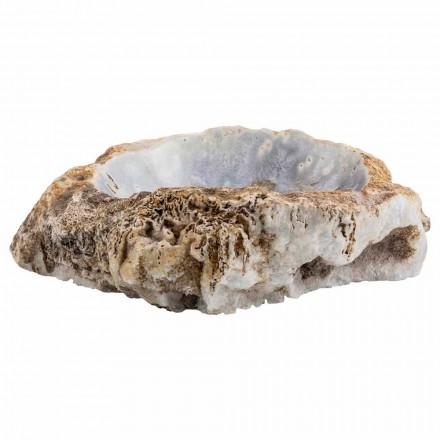 Blat de mână manual din piatră de agat, Posina