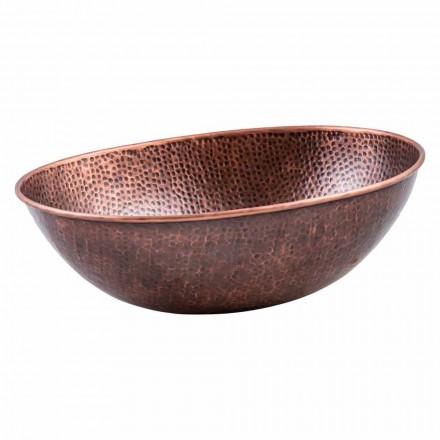 Blatul oval modern este cuplat în cupru, Pagliara