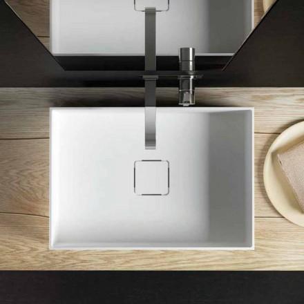 Chiuveta de blat modernă de design, produsă 100% în Italia, Lavis