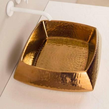 Design chiuvetă din ceramică de bronz din Italia Simon