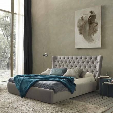 Pat dublu fără cutie, design contemporan, Selene de Bolzan