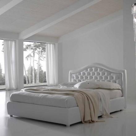 Pat dublu fără cutie, design clasic, Capri de Bolzan