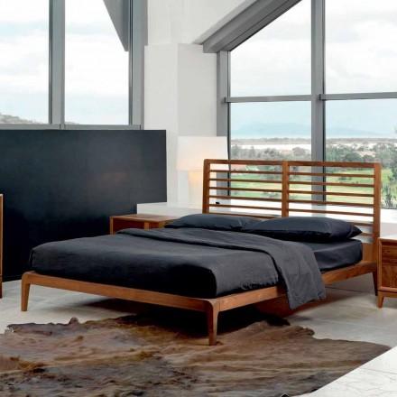 Made in Italy pat dublu cu baza solidă de nucă Didimo
