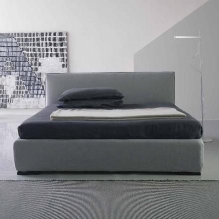 Pat matrimonial modern, fără container pentru pat, Gaya New de Bolzan