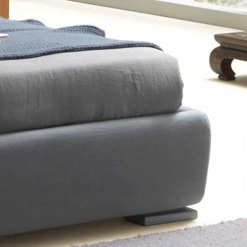 Pat dublu fără cutie, design contemporan, Iorca de Bolzan