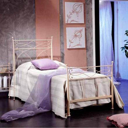 pat simplu în mână de fier forjat forjat Ambra, realizate în Italia