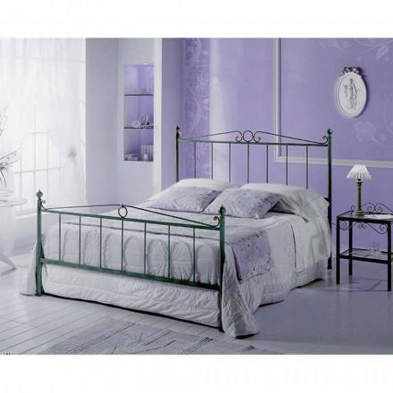 Un pat și jumătate pătrat de fier forjat Faun