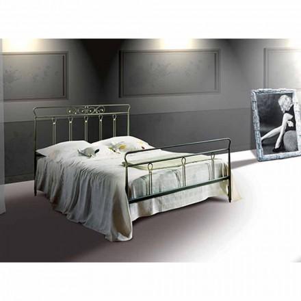 Un pat și jumătate pătrat de fier forjat Pan