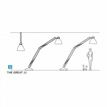 Leucos Marea JJ lampa de podea în aer liber în design de aluminiu
