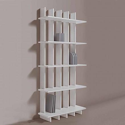 Bibliotecă de perete Shabby Chic din lemn de frasin de design modern - Babele