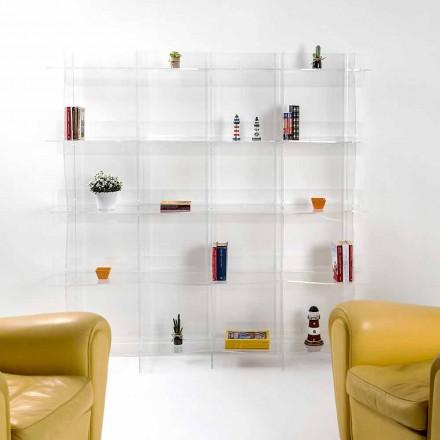 liber în picioare bibliotecă / perete design modern Pam transparent