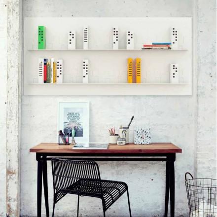 Perete Biblioteca Skyline 186x86 Mabele