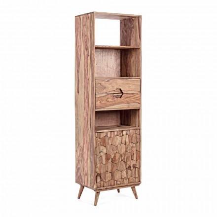 Bibliotecă de podea cu design de structură din lemn Vintage Homemotion - Ventador