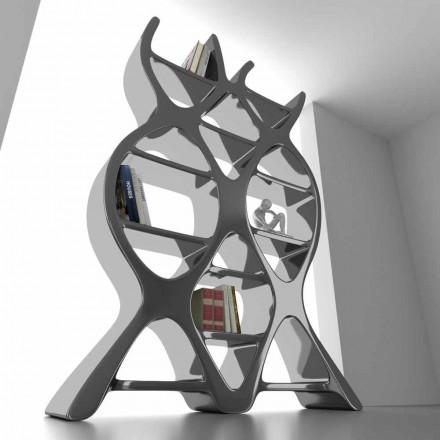Biblioteca de podea de design contemporan în ADN-ul Solid Surface