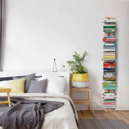 bibliotecă modernă de la sol atașat la perete tanti Hortense