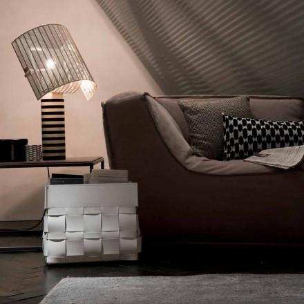 Designer Lory de perete pentru mobilier din piele, fabricat în Italia